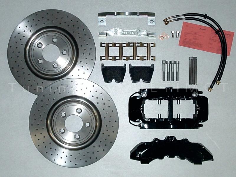 bremsanlage 355 x 32 mm f r ford focus ii und focus st mit brembo bremssattel ebay. Black Bedroom Furniture Sets. Home Design Ideas
